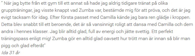 Referens Zumba Fit 1