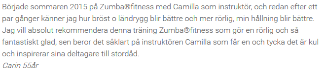 Referens Zumba Fit 3