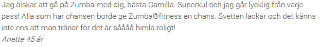 Referens Zumba Fit 5